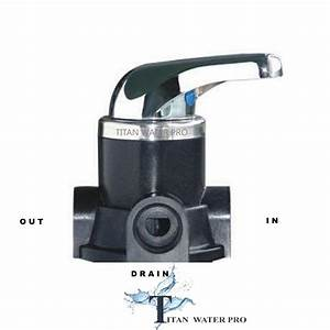 Manual Backwash Valve For Whole House Water Filter System