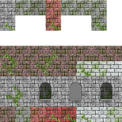 Shop for view all at cb2. 2D wall tilesets   OpenGameArt.org