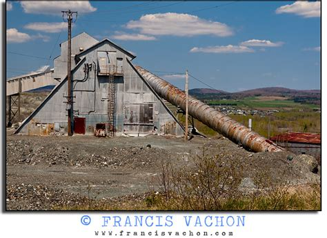 asbestos mining  thetford mines francis vachon