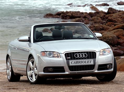 Audi A4 Cabriolet Specs 2005 2006 2007 2008
