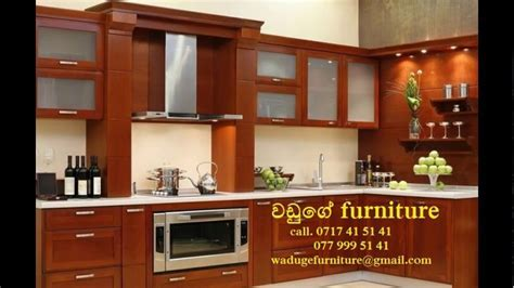 modern pantry design waduge furniture   YouTube