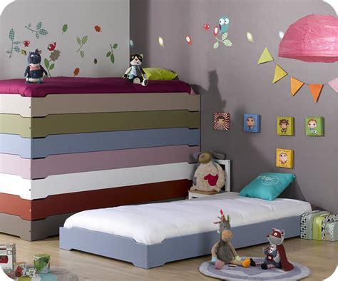 ma chambre denfant lit enfant empilable bleu chine 90x190 cm vente mobilier
