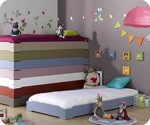 Lit Au Sol Pour Bébé : chambre b b enfant pour ma douceur ~ Dallasstarsshop.com Idées de Décoration
