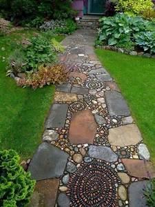 les 246 meilleures images du tableau garden sur pinterest With allee de jardin en pierre 0 amenagement exterieur les pierres et leur rale dans le jardin