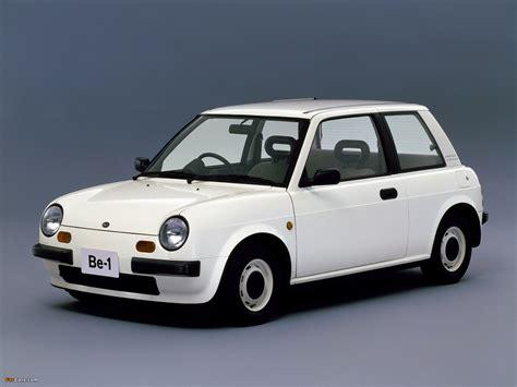 Nissan Be-1 (BK10) 1987–88 images (1600x1200)