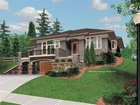 top photos ideas for front sloping lot house plans large tri level house studio design gallery best
