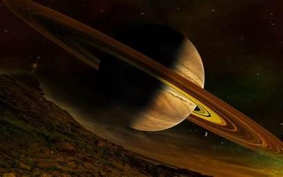 Saturn Planet Desktop Background Pc Wallpapers Space