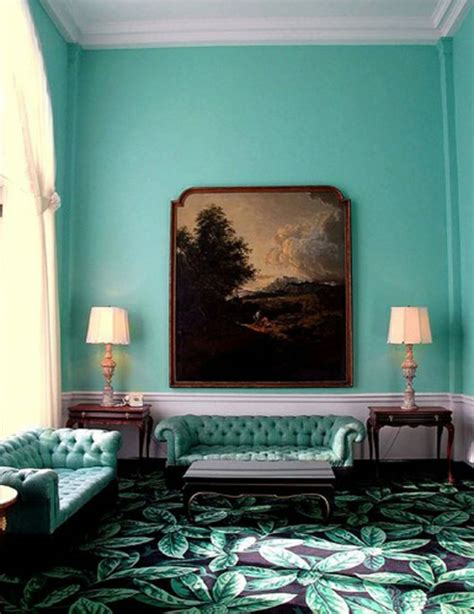 Tuerkise Vorhaenge Frische Farbe Im Raumturquoise Bedroom Decorating Ideas 7 by Wandfarbe Mintgr 252 N Verleiht Ihrem Wohnraum Einen Magischen