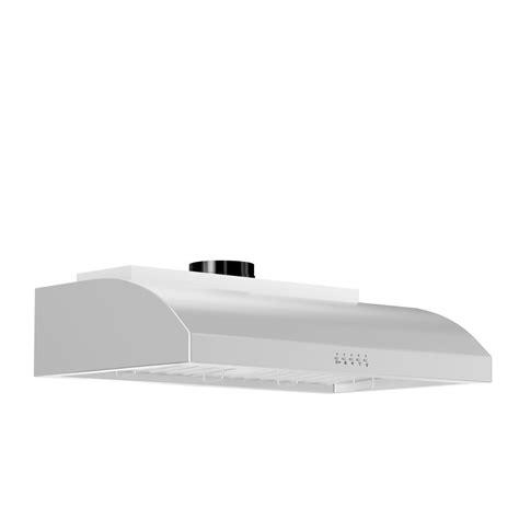 30 stainless steel range hood under cabinet zline 30 in 900 cfm under cabinet range hood in stainless
