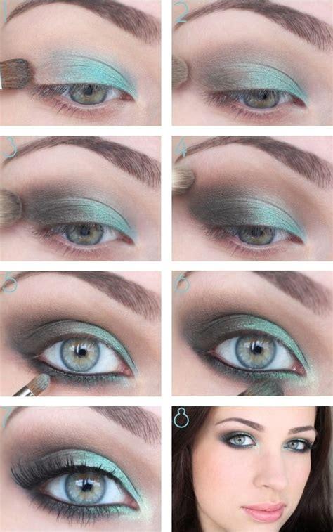 smoky makeup tutorials  christmas parties pretty designs