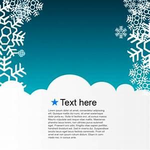 Modele Carte De Voeux : mod le d 39 hiver carte de voeux t l charger des vecteurs ~ Melissatoandfro.com Idées de Décoration