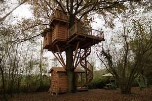 Constructeur Cabane Dans Les Arbres : constructeur de cabane dans les arbres la cabane arial fabian nidperch constructeur de cabane ~ Dallasstarsshop.com Idées de Décoration