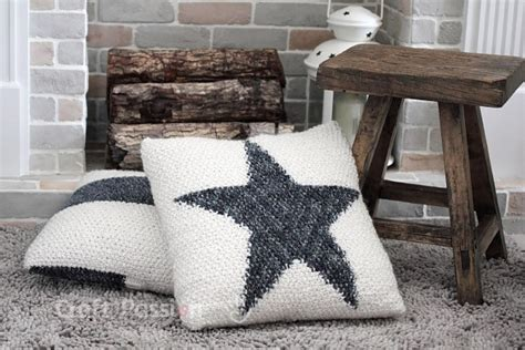 star pillow  knitting pattern craft passion page