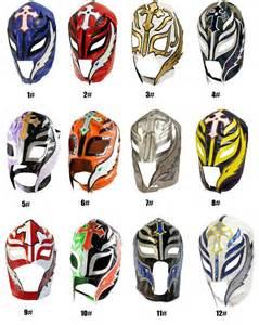 WWE Rey Mysterio Masks