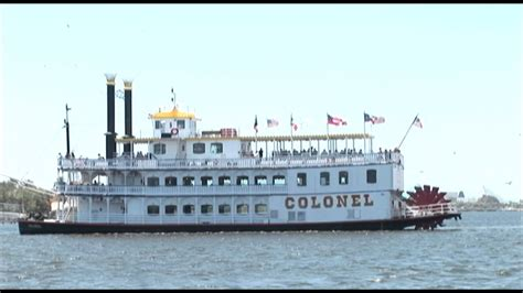 Boat R Galveston Tx by Attractions Colonel Paddlewheel Boat At Moody Gardens On