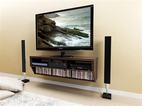shelves tv choosing the right of tv stand ideas 4 homes Floating