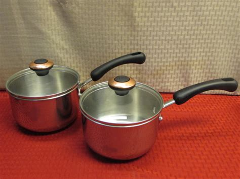 lot detail high quality pots pans cuisinart tramontina pasta pot paula deen farberware