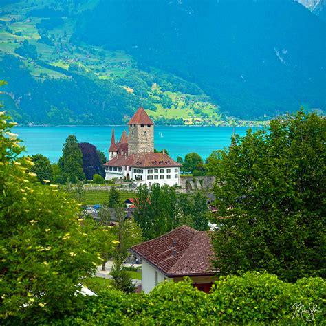 Spiez Castle Spiez Switzerland Mickey Shannon Photography
