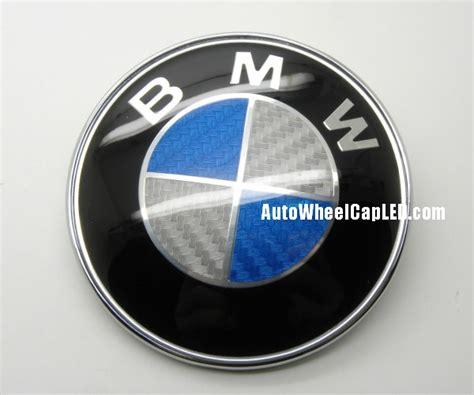 bmw ci coupe blue white carbon fiber trunk emblem mm