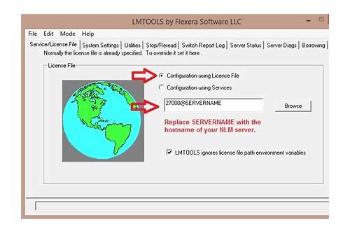 Solved: download the latest version of flexlm (lmtools) autodesk.