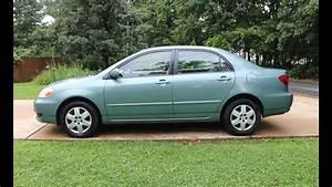 2006 Toyota Corolla Le Auto Review