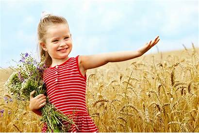 Child Flower Background Wallpapers Backgrounds