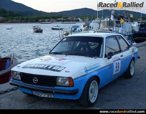 opel ascona  gruppe  historic rally car rally cars