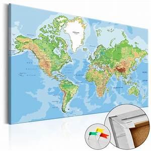 Pinnwand Weltkarte Kork : kork pinnwand weltkarte leinwand bilder xxl landkarte wandbilder k c 0026 p a ebay ~ Markanthonyermac.com Haus und Dekorationen