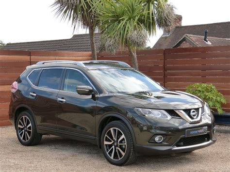 nissan green used green nissan x trail for sale dorset