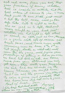 lot detail ty cobb handwritten letter w exceptional With ty cobb letter