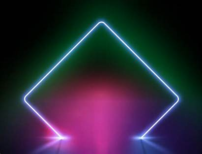 Neon Background Vector Illustration Backgrounds Clipart Frame
