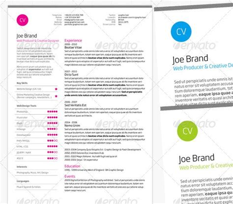 37 stylish resume templates pixelpush design
