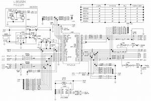 Lg Flatron L1510sf  U2013 15 Inch Lcd Monitor  U2013 Schematic  Circuit Diagram