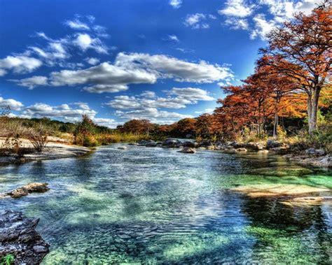 frio river  garner stae park texas hdr  hd