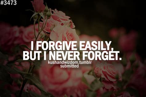 I Can Forgive But Not Forget Quotes
