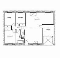 hd wallpapers plan maison rectangulaire plain pied 120m2 - Plan De Maison Rectangulaire