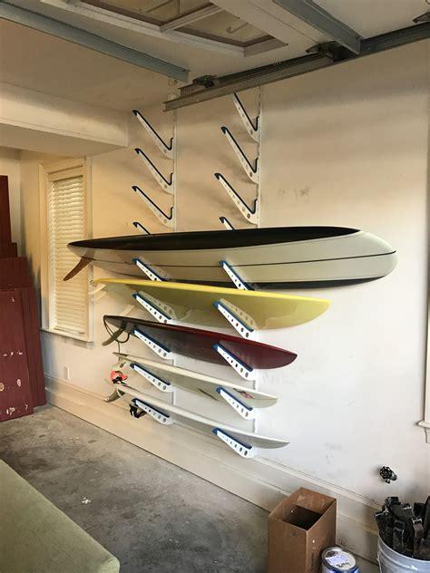 wall mounted surfboard rack adjustable metal surfboard wall rack 4 boards