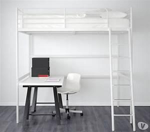 Lit Blanc 1 Personne : lit mezzanine ikea 1 clasf ~ Teatrodelosmanantiales.com Idées de Décoration