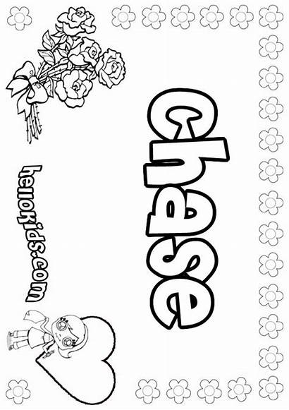 Coloring Chase Charlotte Pages Q66 Source Printable