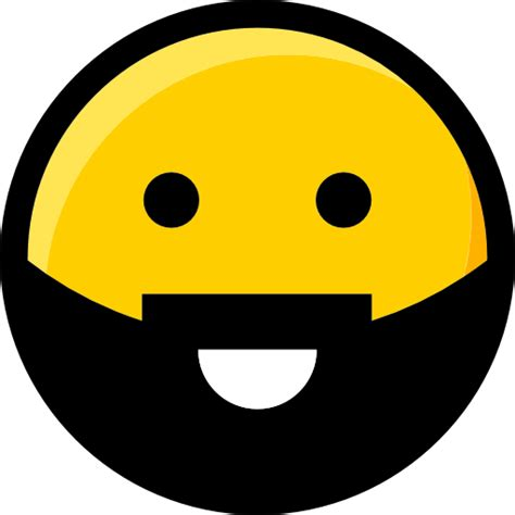 emoji smileys interface faces beard feelings