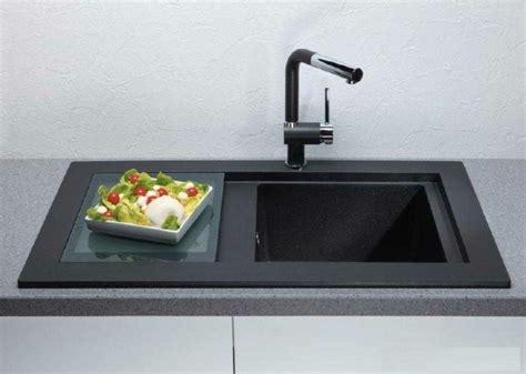 evier cuisine design meuble sous evier cuisine noir