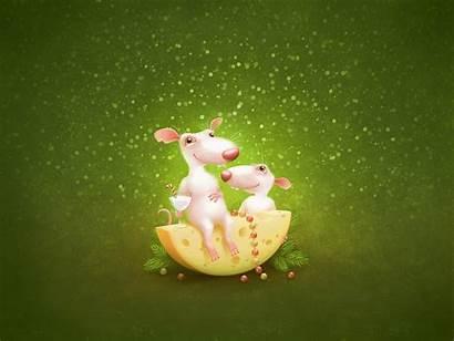 Cheese Wallpapers Mice Desktop Drawn