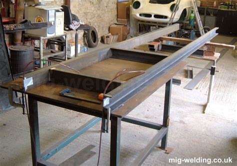 making  chassis frame jig  body roller