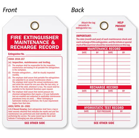 Here is a definition of checklist. What Is A Monthly Inspection Color? / How to Perform a Monthly Inspection of your Fire ... - Top ...