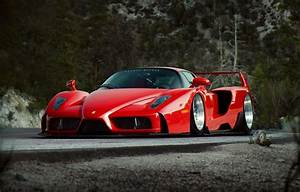 Wallpaper Ferrari, Red, Enzo, Tuning, Future, Supercar, by
