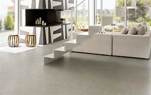 nera warm gris 120x120cm carreau moderne tres grand With carrelage grand carreaux