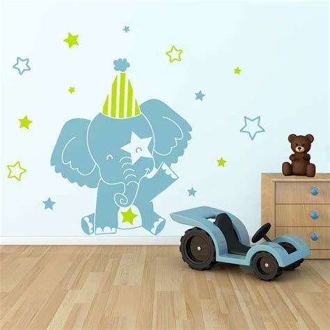 chambre bebe elephant stickers muraux bébé garçon matelas 2017