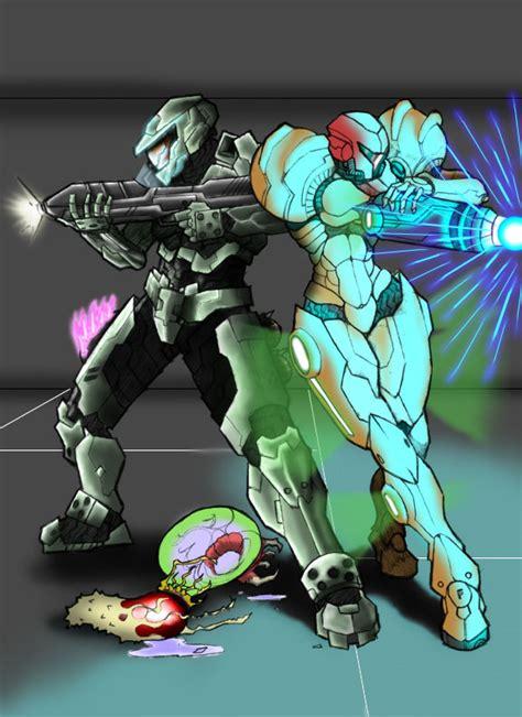 Metroid Halo Crossovers Favourites By Tranaran On Deviantart