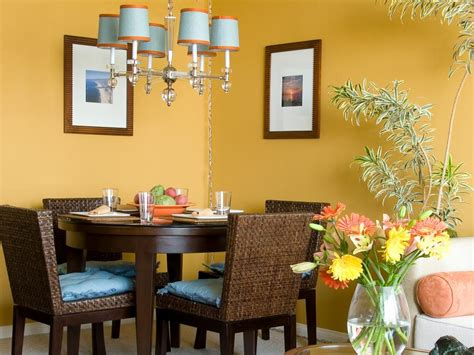 small living dining room ideas our fave colorful dining rooms hgtv