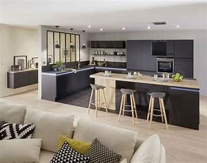 petite cuisine 12 astuces gain de place cote maison With salon salle a manger contemporain pour petite cuisine Équipée